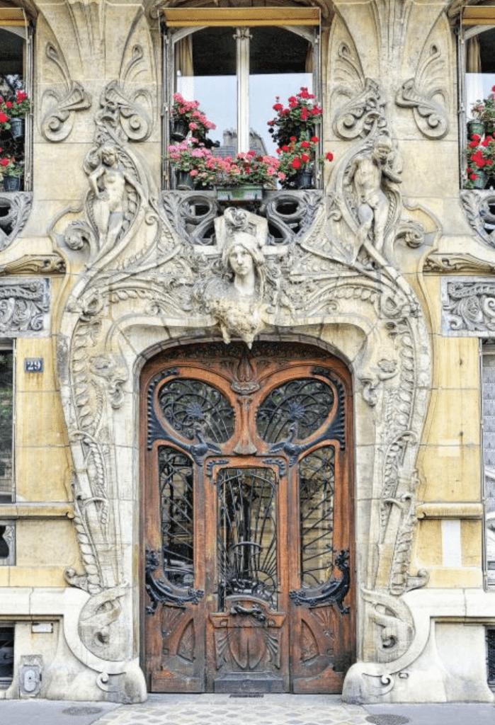 Façade d'un bâtiment Art nouveau - Cultea