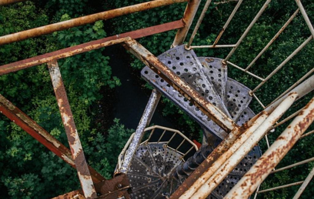Le Dadipark abandonné, photo de Kris Van de Sande - Cultea