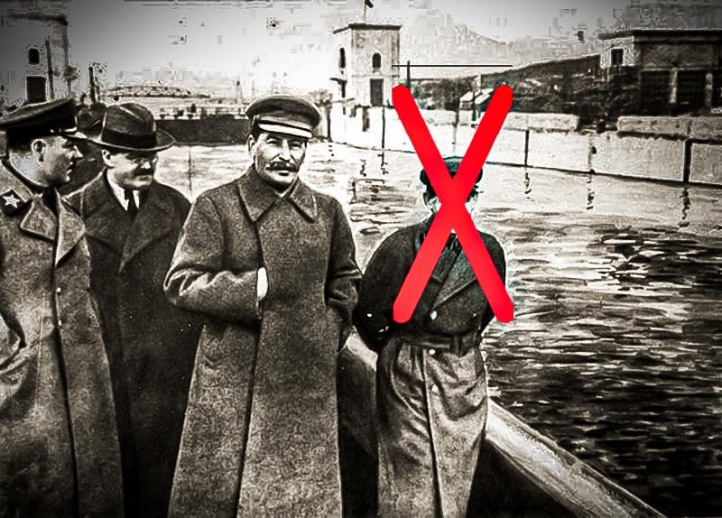 Quand Staline utilisait la retouche photographique comme une arme... - Cultea