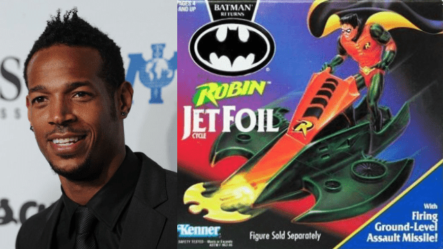 Marlon Wayans touche encore aujourd'hui des recettes sur des produits Batman - Cultea