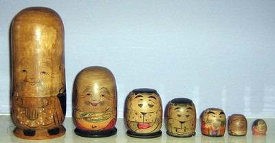 Poupée gigogne japonaise - Cultea