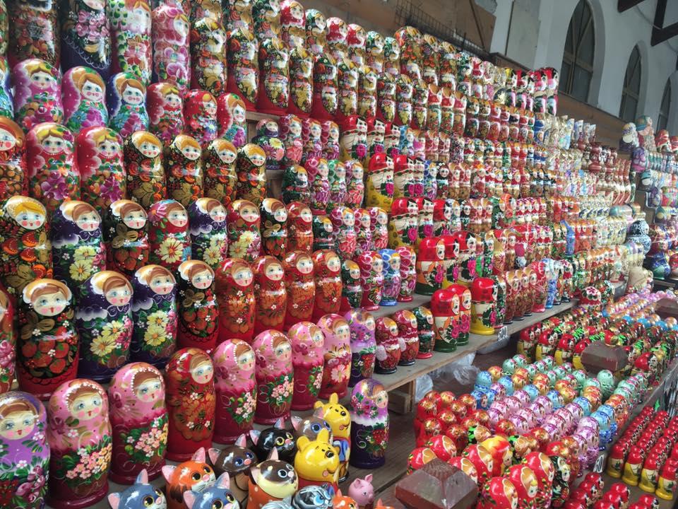 Exemple de la diversité des poupées russes aujourd'hui - Cultea