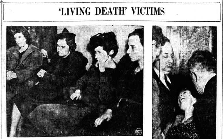 """'Living Death' Victims,"" The Times-News, 1938 - Cultea"