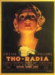 Publicité vantant les bienfaits du radium - Cultea
