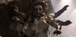 La statue géante de la déesse Shiva est directement tirée de Tomb Raider III - Cultea