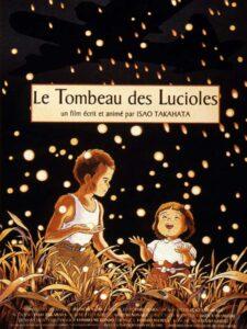 Affiche du film Le Tombeau des Lucioles - Cultea