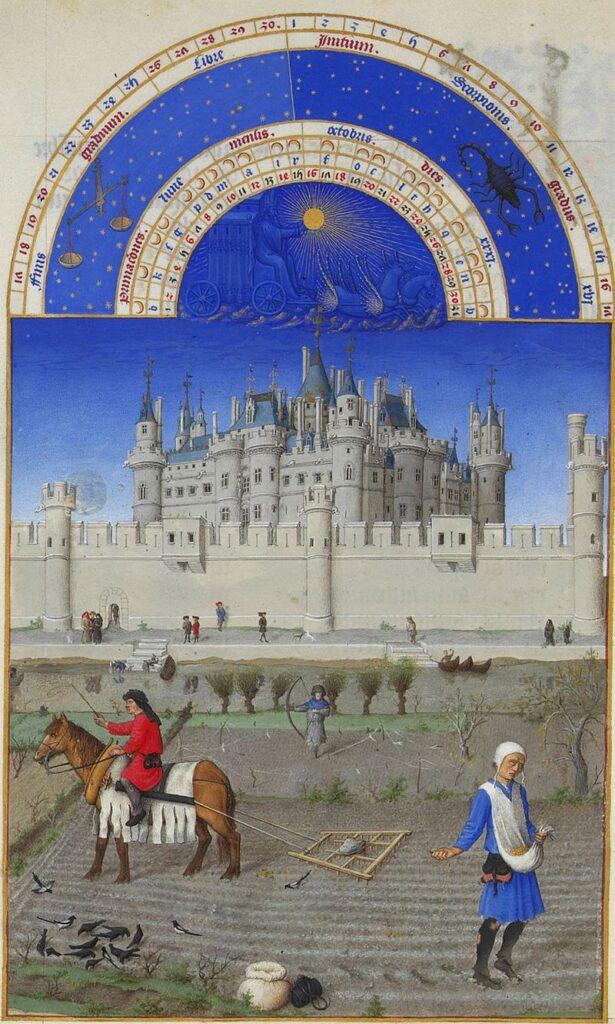 Les Très Riches Heures du duc de Berry sont un livre d'heures commandé par le duc Jean Ier de Berry et actuellement conservé au musée Condé à Chantilly.
