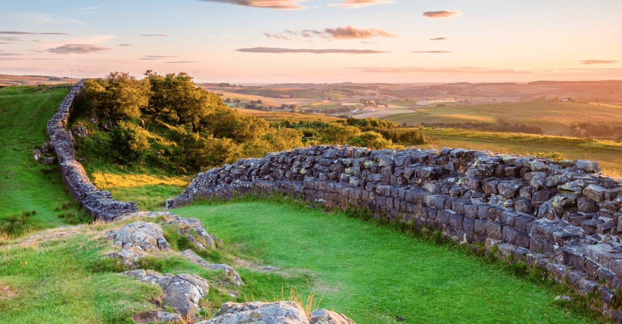 Le mur d'Hadrien, la fortification la plus célèbre d'Angleterre