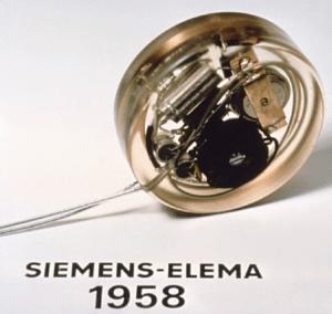 Le premier pacemaker implanté