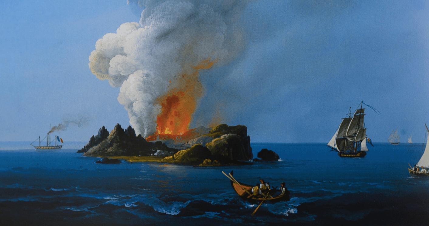 Ferdinandea, l'île éphémère revendiquée par de nombreuses nations