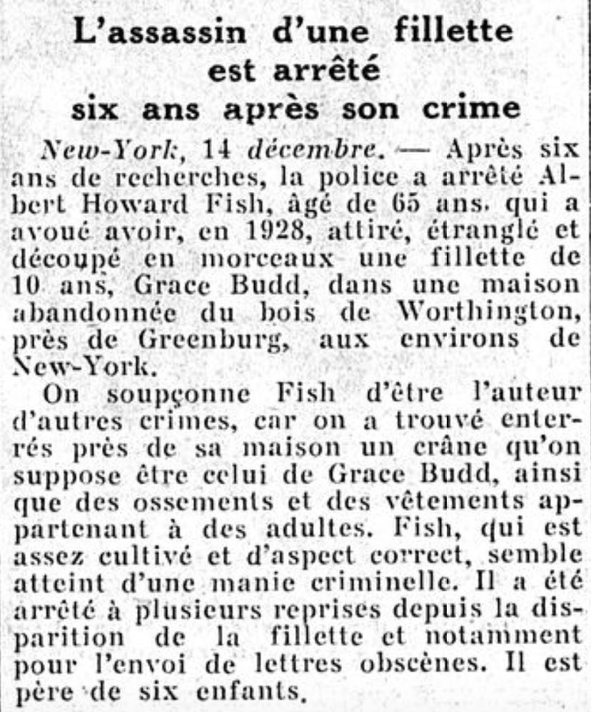 Article paru dans Le Figaro le 15 décembre 1937 (page 8/10) - Cultea