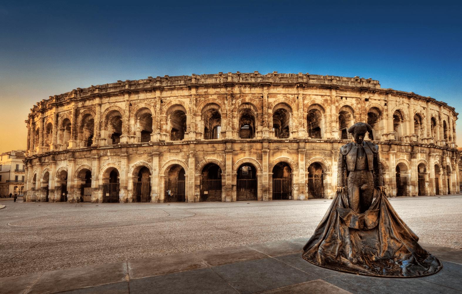 Les arènes de Nîmes : l'un des amphithéâtres romains les mieux conservés