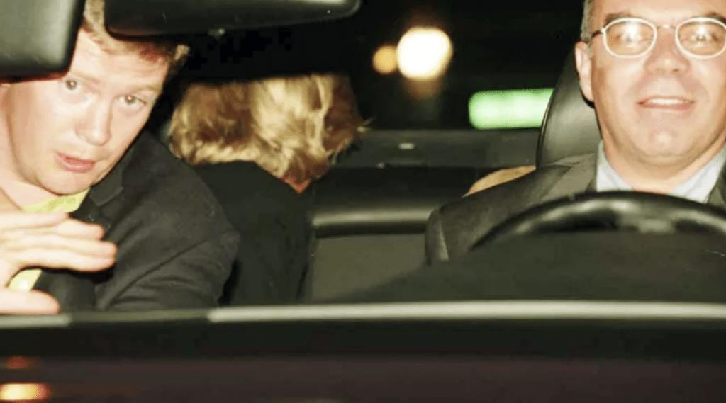 Photo de la nuit de la mort de Diana.