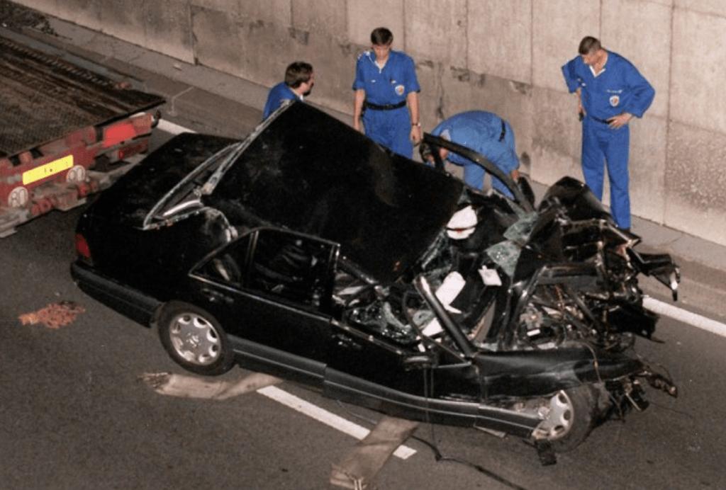 Voiture de l'accident de Diana.