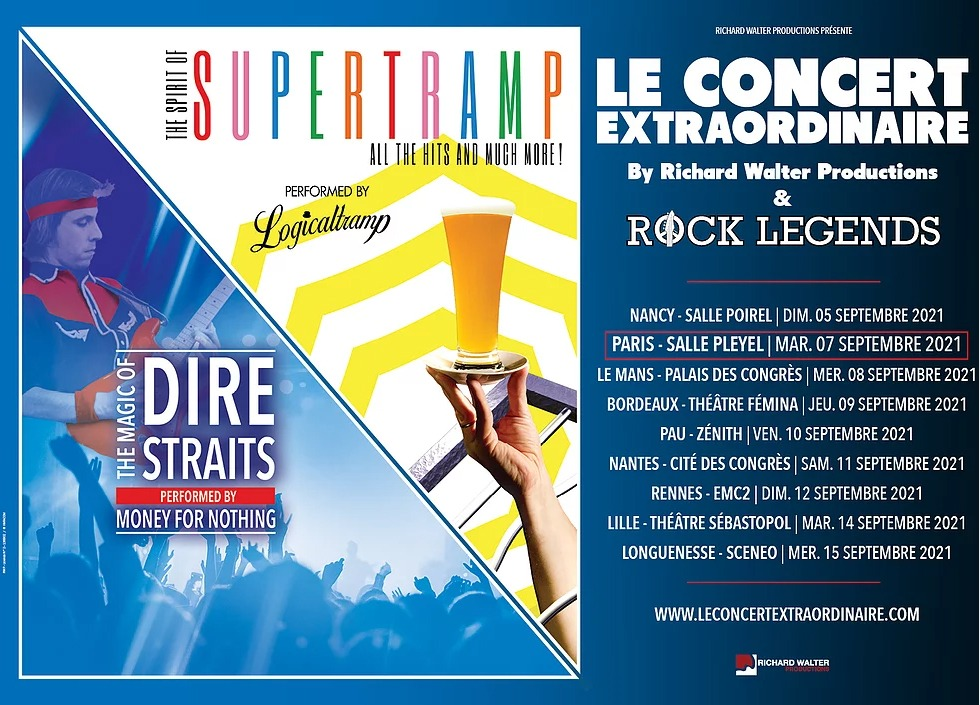 Rock Legends à La Salle Pleyel - Cultea