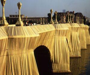 Vue du Pont-Neuf, Paris, empaqueté par Christo
