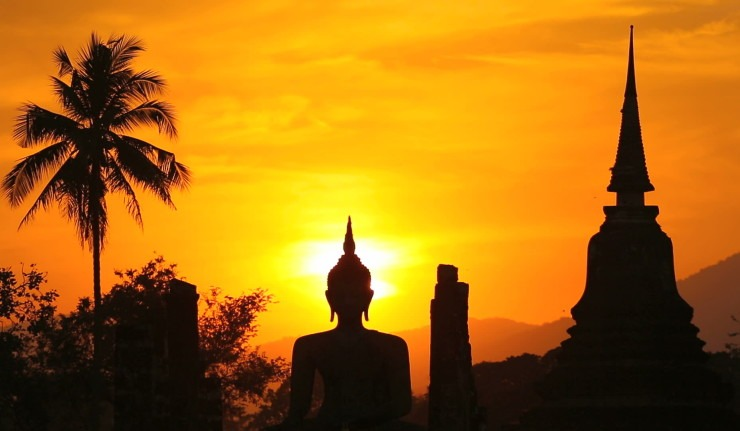 Et si vous alliez passer vos vacances dans un temple bouddhiste ?