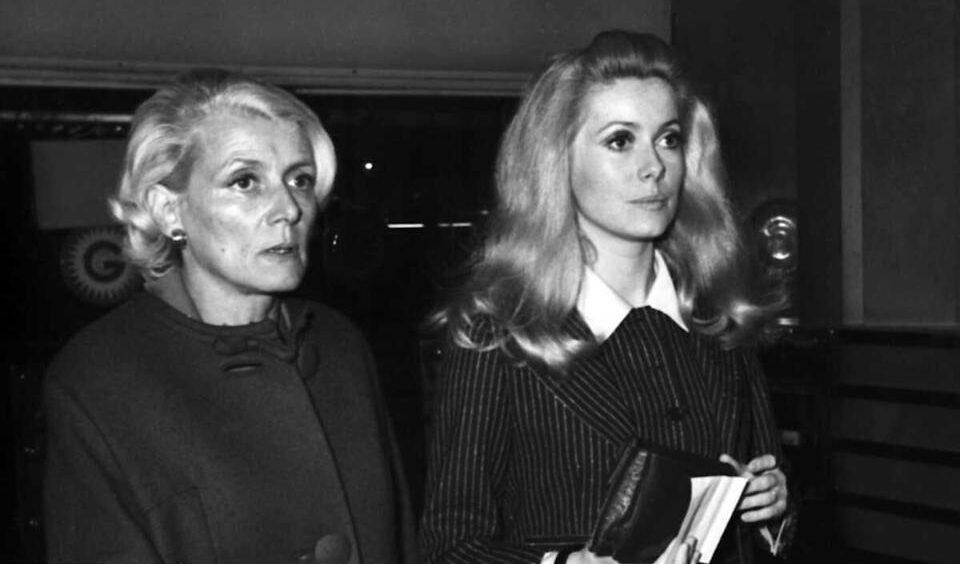 Renée Simonot, mère de Catherine Deneuve et doyenne des actrices, est décédée...