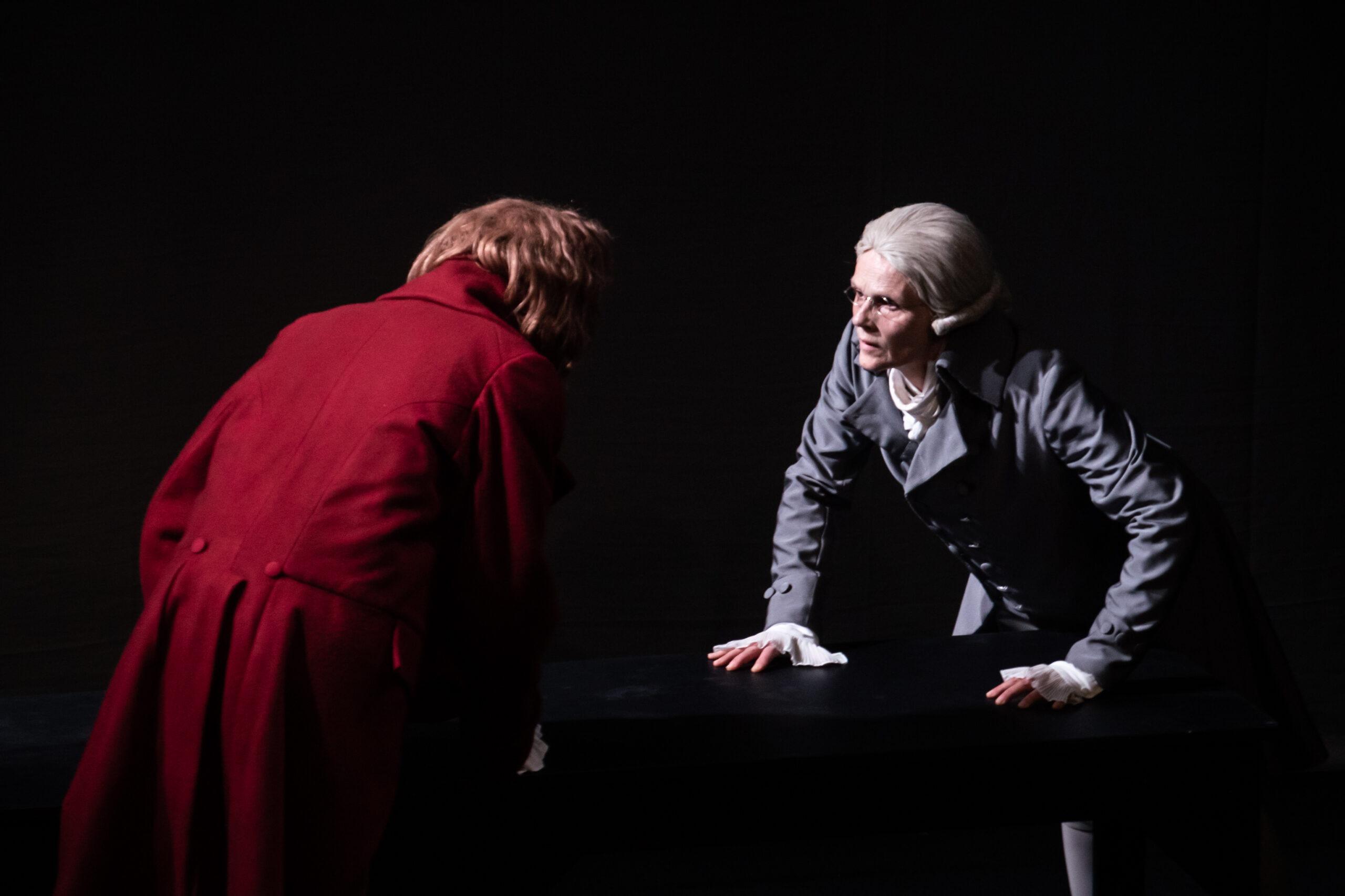 Danton Robespierre - Les Racines de la Liberté : Un passionnant face à face ! [Festival d'Avignon 2021]