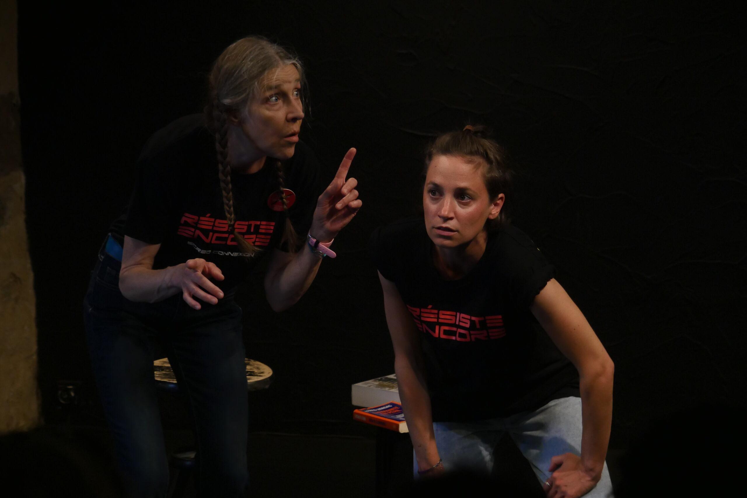 """Rencontre avec les interprètes de """"Mina & Loy"""" [Festival d'Avignon 2021] - Cultea"""