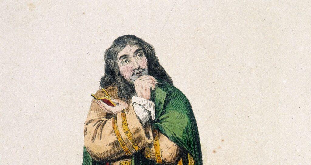 Molière portant du vert - Cultea