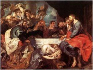 """""""Fête dans la maison de Simon le pharisien Eremitaget"""" - Peter Paul Rubens"""