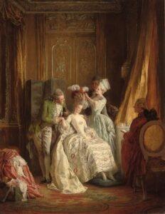 Marie-Antoinette serviteurs