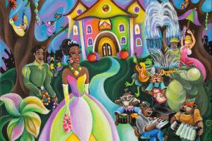 Disney attraction Princesse et la Grenouille