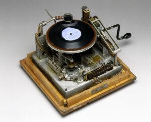 alarme gramophone