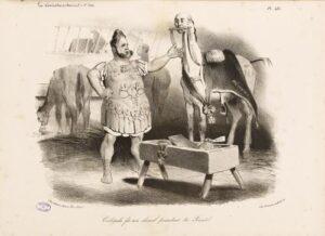 Caligula cheval sénateur