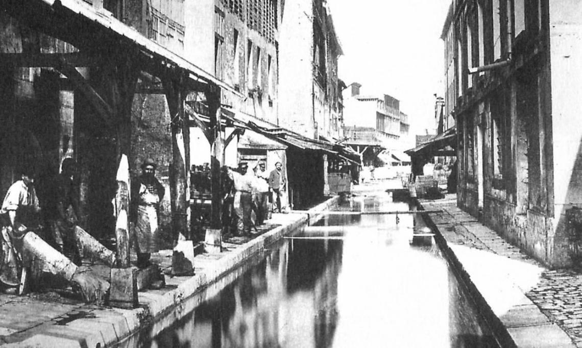 Paris : Quand le fleuve de la Bièvre traversait la capitale