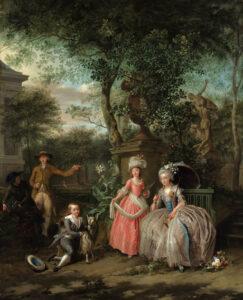 Marie-Antoinette coureurs de vin