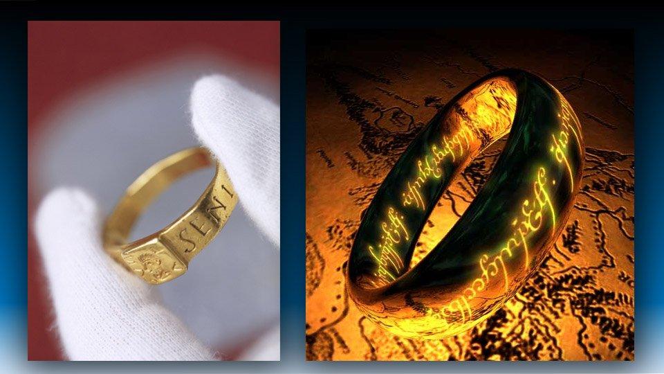 """Tolkien : L'anneau maudit de The Vyne qui a inspiré """"Le Hobbit"""""""