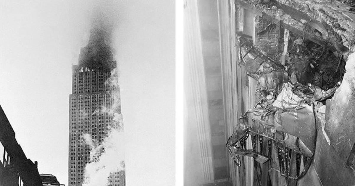 Empire State Building : quand un avion s'écrasa à son sommet en 1945
