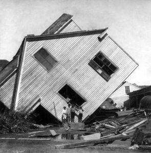 Ouragan Galveston Texas