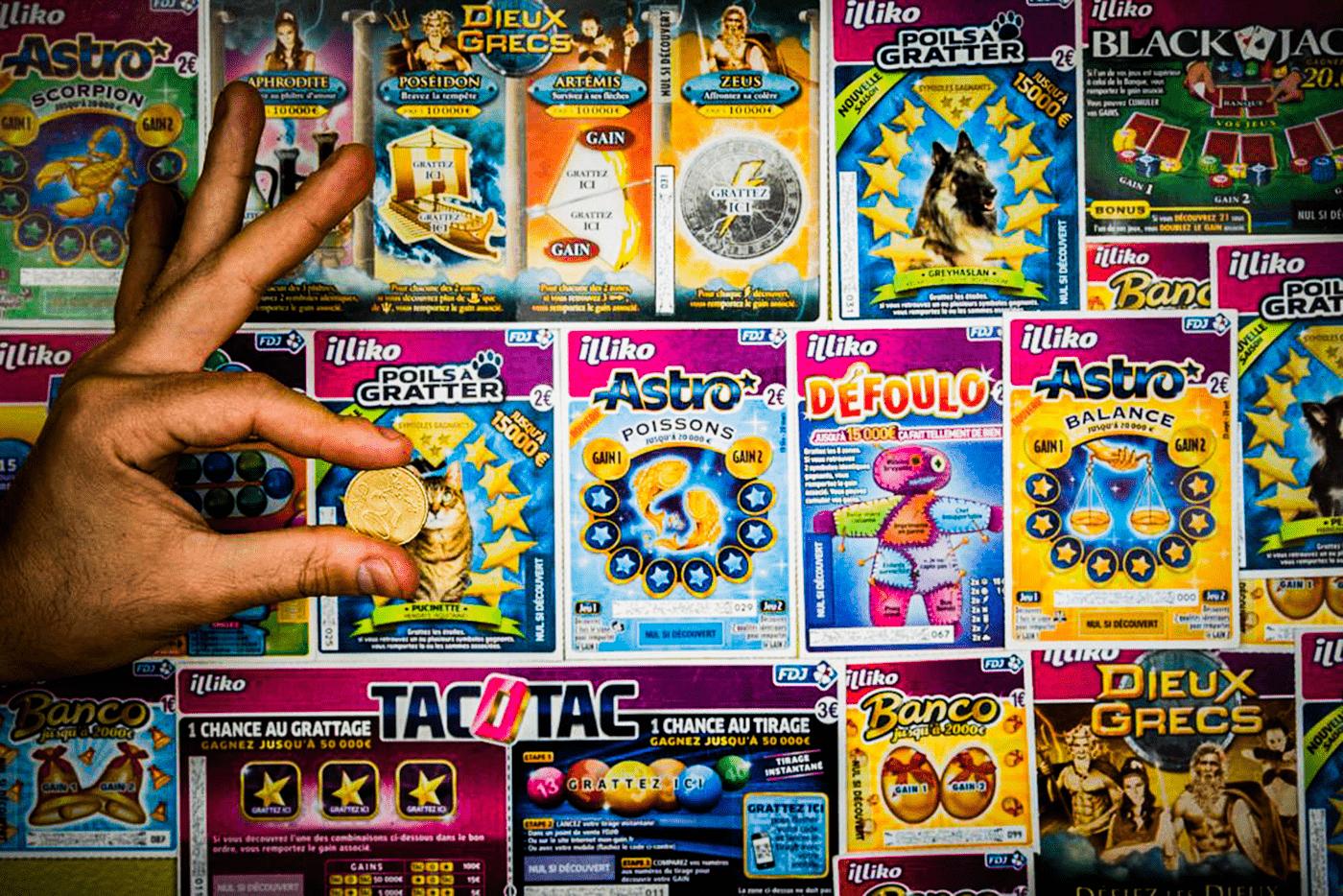Qui a donc inventé les jeux de grattage devenus iconiques ?