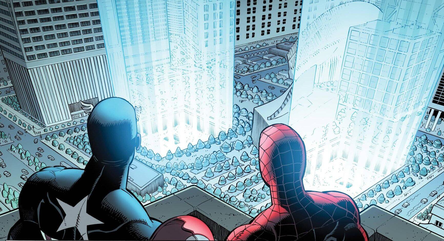 En commémoration du 11 septembre et en l'honneur des secouristes qui ont risqué ou laissé leur vie durant les attentats, Marvel a sorti THE FOUR FIVES (2021) #1.