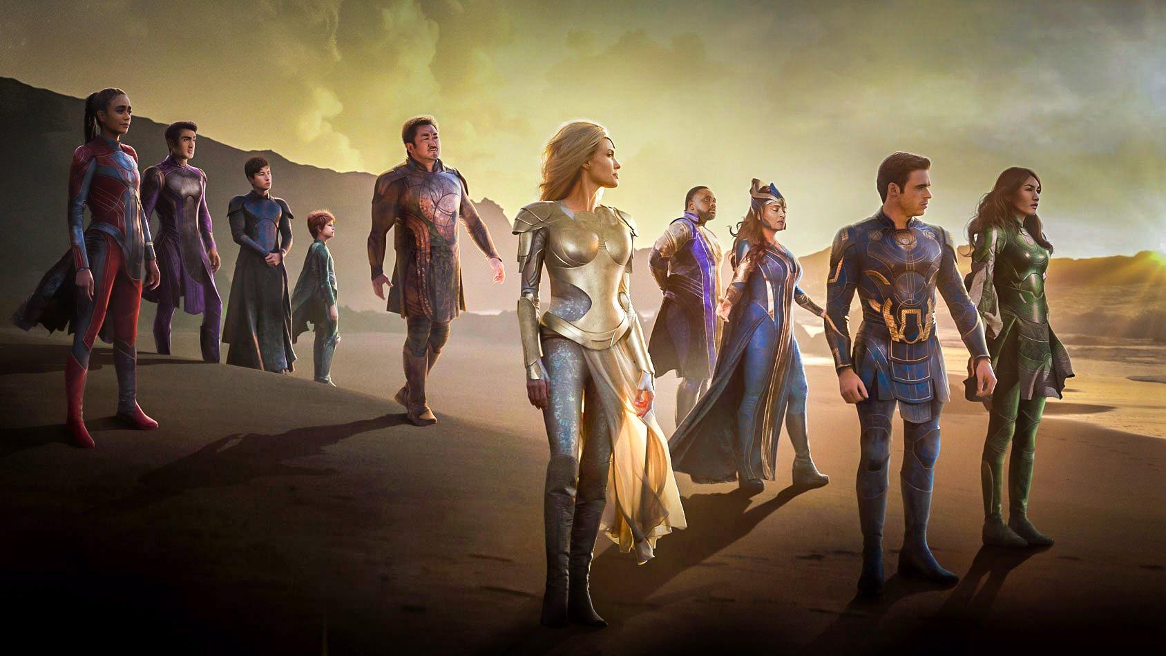 """Marvel dévoile une nouvelle bande-annonce pour """"Eternals"""""""