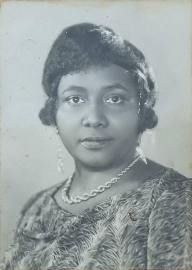 Paulette Nardal dans les années 1920-1925. - Cultea