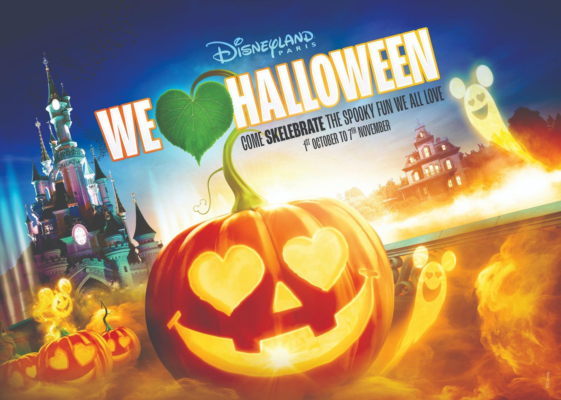 Halloween à Disneyland Paris : découvrez le programme des festivités !